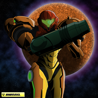 Metroid 30th anniversary by ArmaBiologica