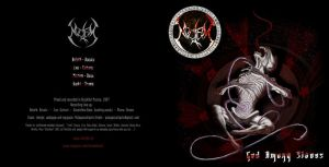Noctem black metal band-cover2 by pulpapocalipsis