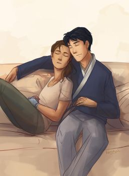 Kaider Cuddles by taratjah