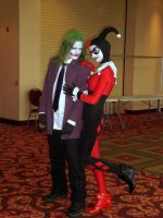 Joker and Harley Quinn by Lily-Hith-Silme