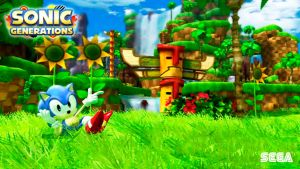 Sonic Generations wallpaper 6 by Andrelevydeoliveira