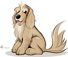 Cocker Spaniel Caricature by timmcfarlin