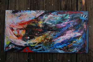 Acrylic Abstract 2 by Chelovek