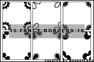 Fancy Icon Borders 18 by Foxxie-Chan