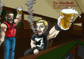 TO ALCOHOL by DeuceOhNegative