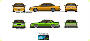 Toyota Chaser by funyboyke