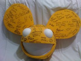 Deadmau5 Yearbook (front) by RandR1500