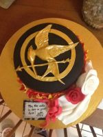 Hunger Games Cake by sablemagus