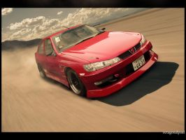 Peugeot 406 new background by octagonalpaul