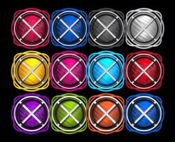 X Marks the Spot icons by elsie432