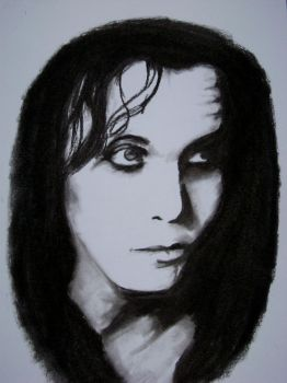 Ville Valo by angrboda555