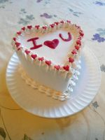 Heart Cake by PnJLover