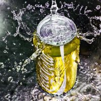 coca cola yellow by SaphoPhotographics
