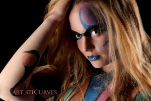 Ellee Brushed Body Paint III by oldmacman