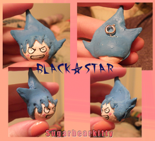Black Star Charm by sugarbearkitty
