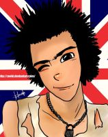 Sid Vicious by Zoehi