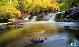 Colourful Cascades by outstar1979