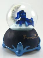 PRINCESS LUNA SNOW GLOBE Custom Sculpture FIM 2 by MadPonyScientist