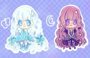 Day and Night Sky Adopts Open 2/2 by HotaruAyanami