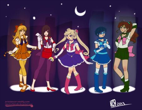 Sailor Group 2013 by SpectralSpindle