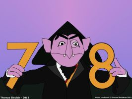 Count von Count - 78 ah ah ah by TomFraggle