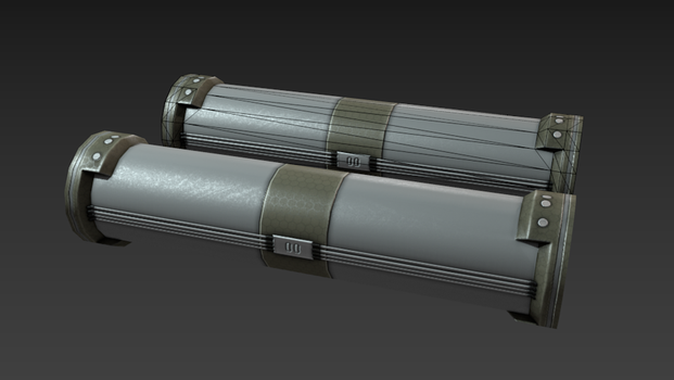 SciFi Pipe 1 - Game Asset by LWNorman