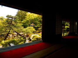 Japanese teahouse by postaldude66