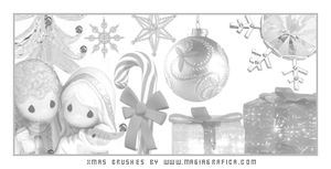 Christmas brushes 2 by Magiagrafica