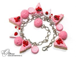 Pink cakes by OrionaJewelry