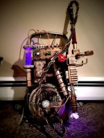 Steampunk Ghostbusters Proton Pack 2 by GrantWilson
