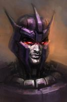 Galvatron's portrait by Naihaan