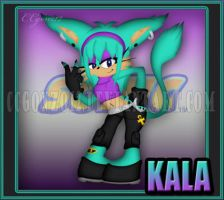 CM: Kala the Lynx Chara Card by CCgonzo12