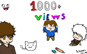 Thanks for the 1000 Pageviews by Luycaslima