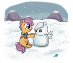 Snow Day Scoots by sgtgarand