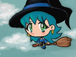 Little Witch Joyceth by Tio-Cao