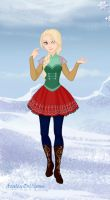 Astrid Snow Queen Style by mojomcm