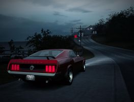 NFS World - 1969 Ford Mustang Boss 302 by AL3XAND3Rd91