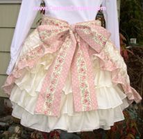 Bustle skirt back by The-Cute-Storm