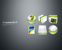Aire Windows Icons by IconsClub