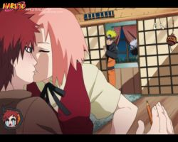 Kiss me,please Gaara by Km92