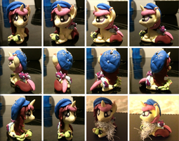 360 Secret Santa Sculpt turnaround by TheMidnightRainstorm