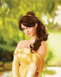 Belle (Emma Watson version) - Beauty and the Beast by dadachan87