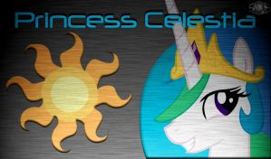 Princess Celestia BA Wallpaper by InternationalTCK