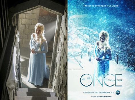 Once Upon a Time - Season 4 Poster Frozen [BTS] by HogwartSite