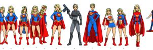 Supergirl Costumes UPDATE by mhunt