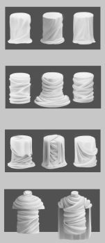 More drapery studies 3 by Haute-claire