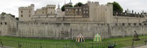 Tower of London panorama by Silinde-Ar-Feiniel