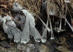 Melting Ice In Glenville, NY by jackthetab