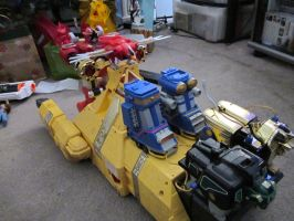 Power Rangers Zeo Battle Fleet by PhoenixGreeed