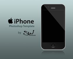 iPhone Photoshop Template by stntoulouse